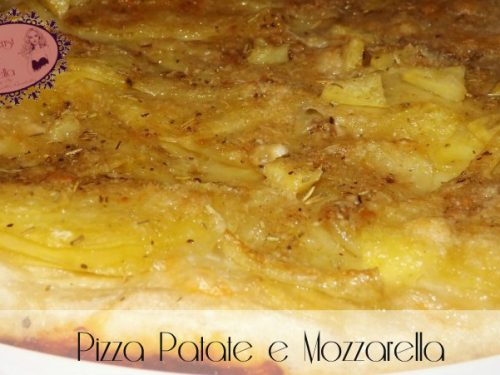 Pizza Patate e Mozzarella