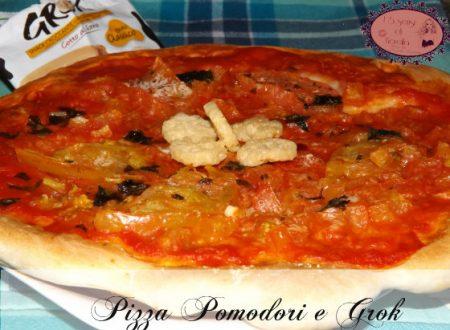 Pizza Pomodori e Grok