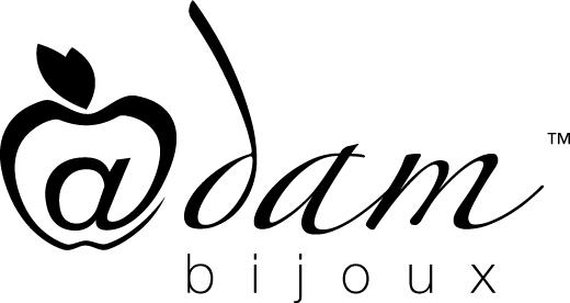 logo_adam bijoux singolo nero