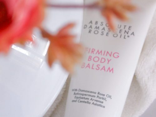 Absolute Damascena Rose Oil – Firming Body Balsam –