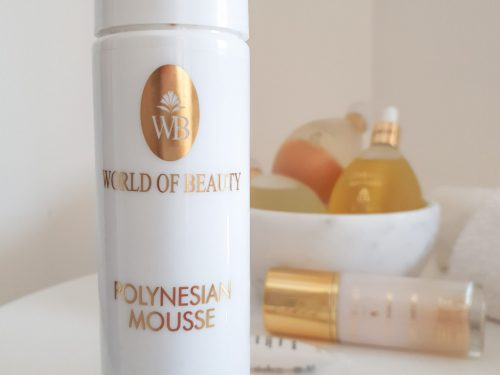 Mousse detergente – World Of Beauty –